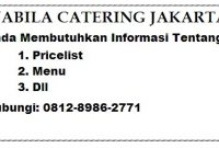 Nabila Catering Jakarta