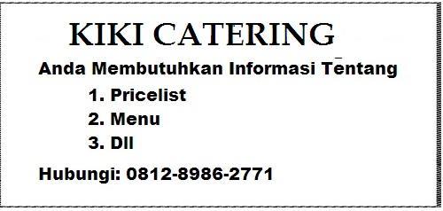 Kiki Catering Pernikahan Jakarta