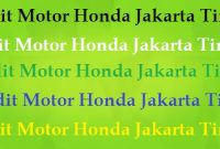 Kredit Motor Honda Jakarta Timur