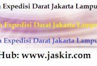 Jasa Expedisi Darat Jakarta Lampung