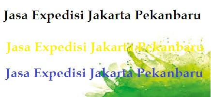 Jasa Expedisi Jakarta Pekanbaru