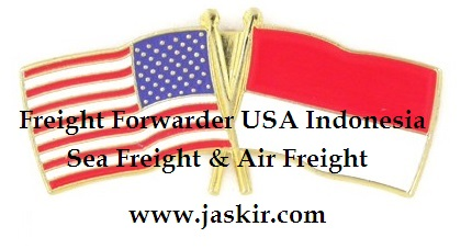 Jasa Freight Forwarder USA Indonesia