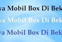 Sewa Mobil Box Di Bekasi