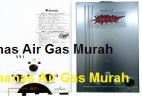 Pemanas Air Gas Murah