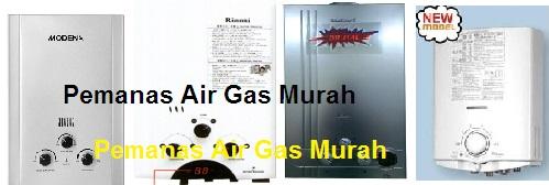 Pemanas Air Gas Murah