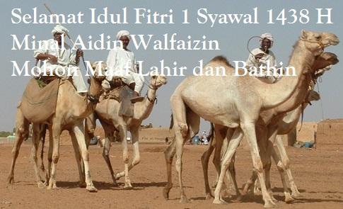 Selamat Idul Fitri 1438 H 2017 Masehi