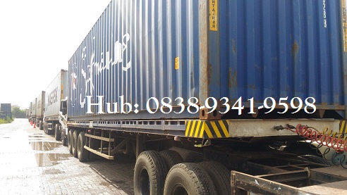 Truk Trailer Untuk Angkut Container