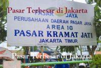 Pasar Terbesar di Jakarta
