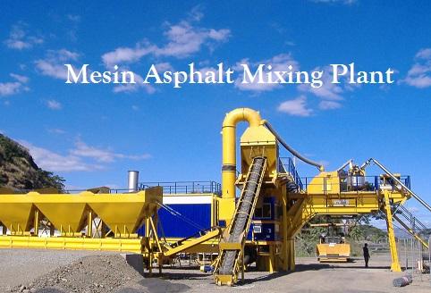 Harga Mesin Asphalt Mixing Plant