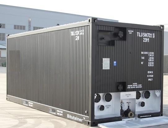 Bitumen Iso Tank Container Atau Bitutainer