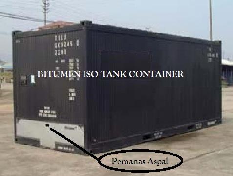 Bitumen Iso Tank Untuk Aspal