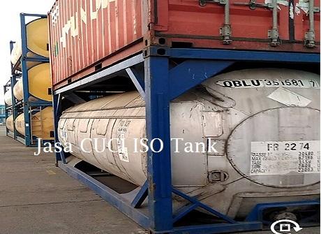 Jasa Cuci ISO Tank