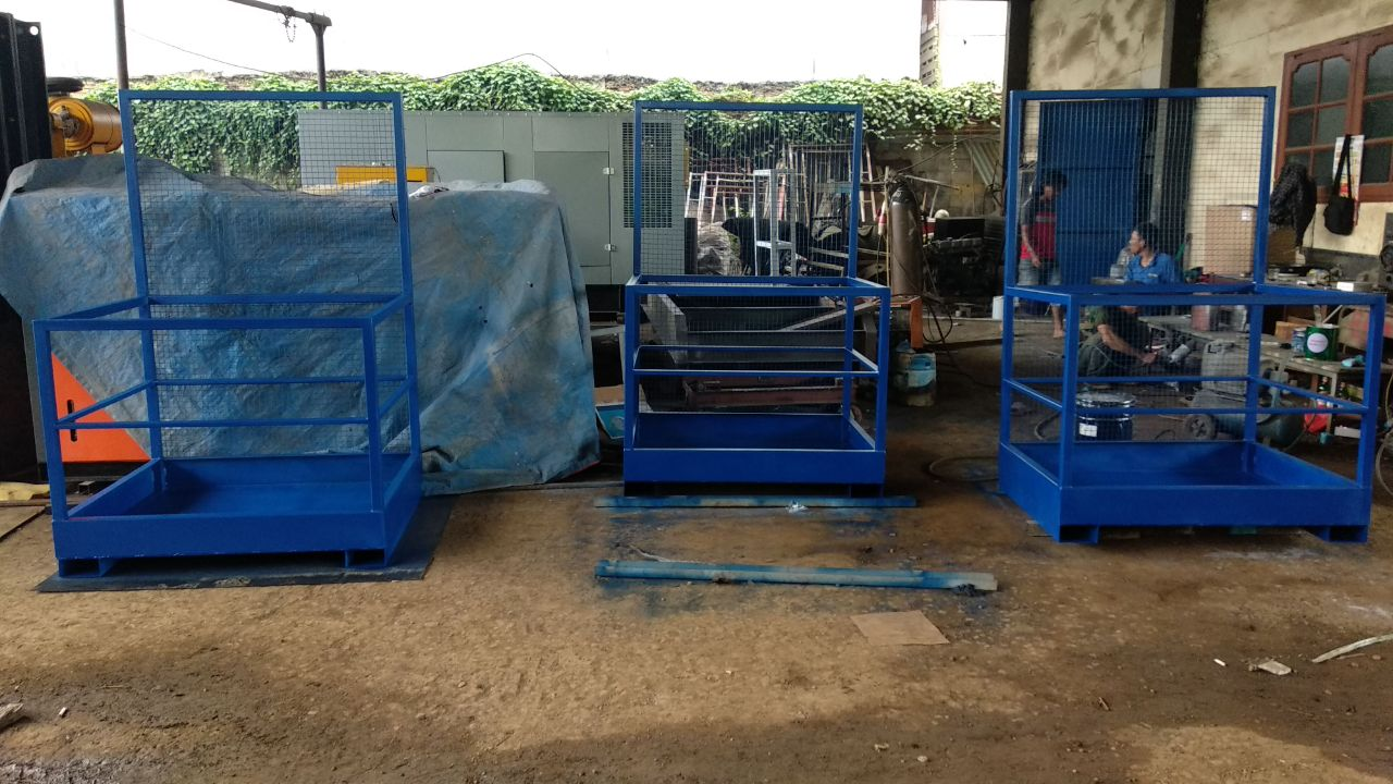 Safety Cage Forklif
